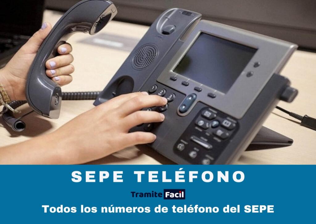 sepe teléfono