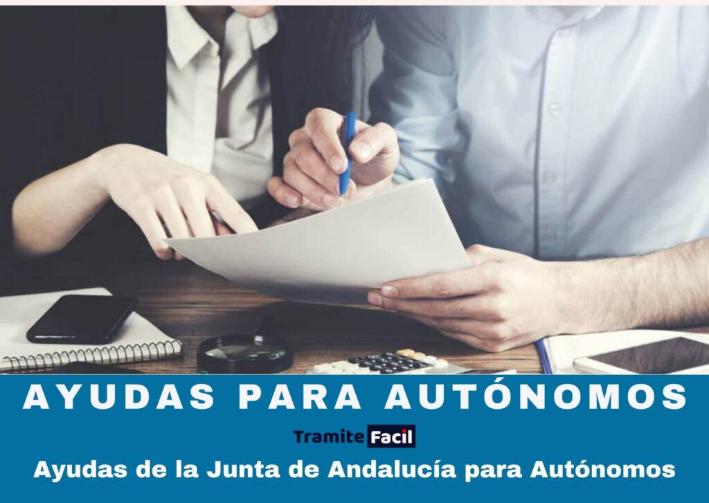 Ayudas de la Junta de Andalucía para Autónomos