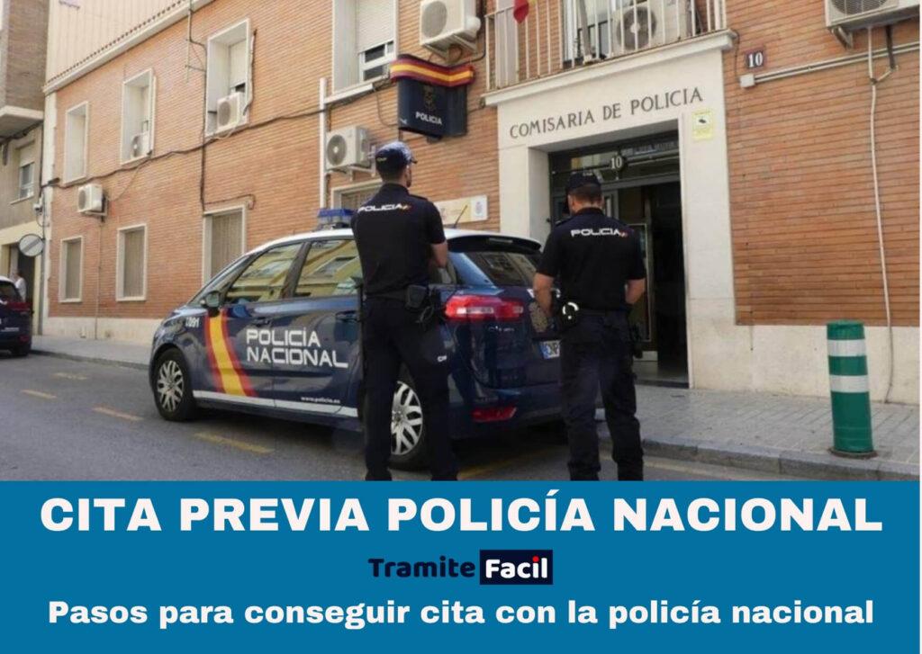 CITA PREVIA POLICÍA NACIONAL