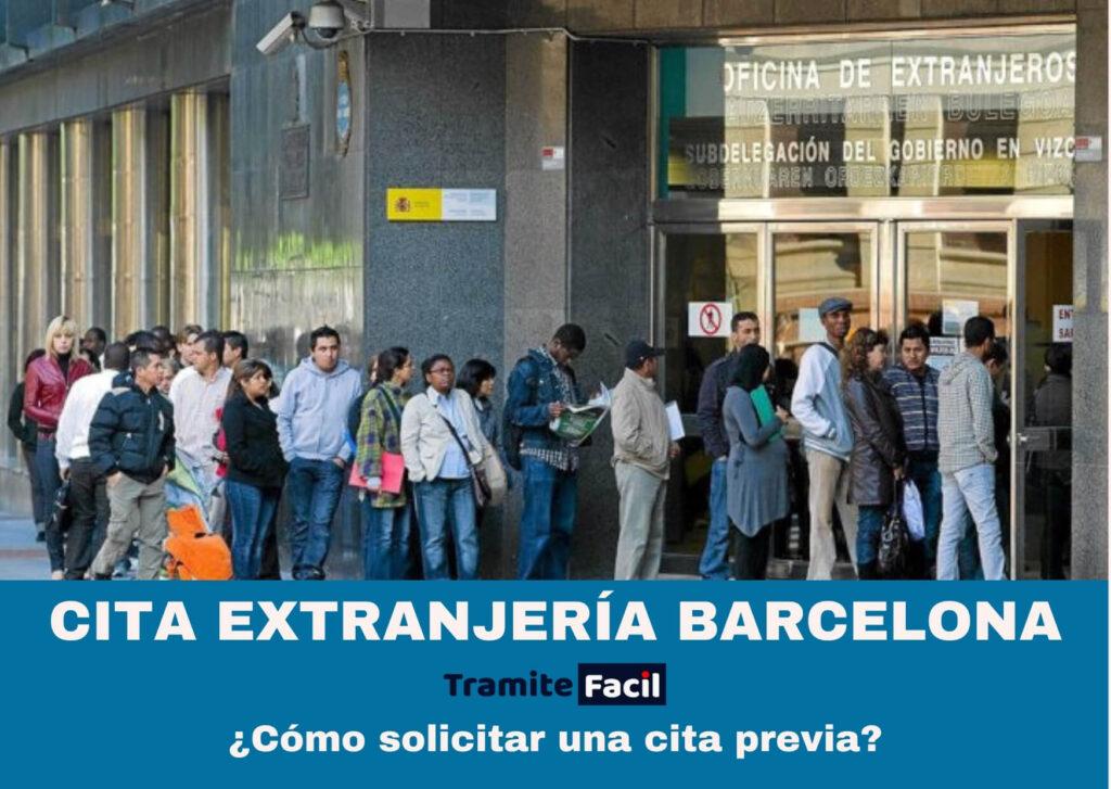 Cita Previa Extranjería Barcelona