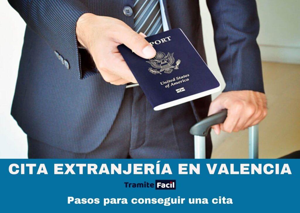 Cita previa Extranjería Valencia