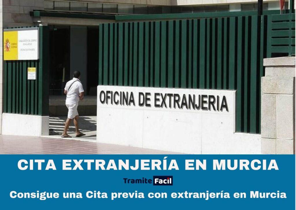 Cita previa extranjería Murcia